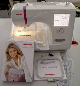 Janome 350E Embroidery Machine